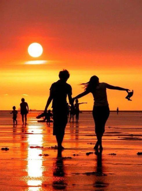 【红尘有爱几许,人生需沉淀。】【落日;】 - 泓方港湾 - 中国泓方心灵文载